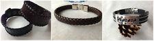New Fashion Popular Charm  Bracelets & Bangles Braided Rope Wristband men