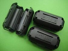 20pcs TDK 5mm Clip On EMI RFI Filter Snap Around Ferrite