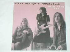 RARE CD PROMO / ULTRA ORANGE & EMMANUELLE / SING SING +