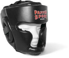 Paffen Sport Kopfschutz Fit,Kunstleder. Sparring Kickboxen, Boxen, Muay Thai,MMA