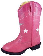 Smoky Mountain Western Boots Girls Zipper Austin Lights Pink 1167