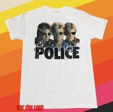 New The Police 1977-1983 Tour Sting Mens Retro Vintage T-Shirt
