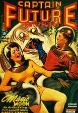 Captain Future - Man of Tomorrow - 1944 - Comic Book Cover Poster