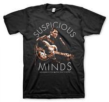 Elvis Presley Suspicious Minds Memphis The King Rock N Roll Männer Men T-Shirt