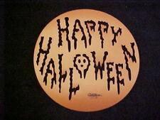 Wilton Cake Stencil Jack- O- Lantern Happy Halloween