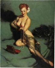 Vintage Pin-Up Fasination Elvgren PINUP257 Art Print Poster A4 A3 A2 A1