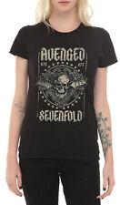 Avenged Sevenfold Death Bat Stars Girls T-Shirt