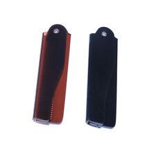 Fashion Men Women Beauty Folding Pocket Clip Hair Moustache Beard Comb Tool IJ