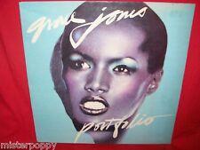 GRACE JONES Portfolio LP 1975 AUSTRALIA MINT- Gatefold Cover