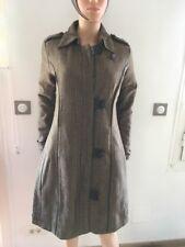 Manteau femme SCHOO/ RAG Madeline couleur marron/beige