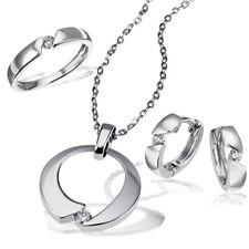 Goldmaid Ring, Collier oder Ohrring 925er Silber 1Brillant 0,08 ct. Echtschmuck