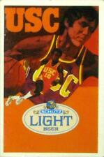1977-78 University of Southern California Basketball Pocket Schedule - Schlitz