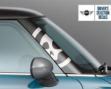 A Pillar BMW Mini Cooper R50 R53 Skull Graphics Decal