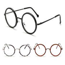 T Blue Light Filter Glasses Fashion Vintage/Retro Round Men Women Anti Eyestrain