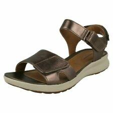 Ladies Clarks Unstructured Sandals - Un Adorn Calm