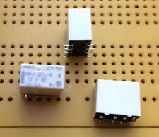 1 A Interruptor DPDT nonlatching SMD Señal Relé 12 V DC BOBINA revestido de oro G6J2FLY12DC Multi Cantidad