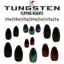 Tungsten Flipping Weights-Bullet Weights-Worm Weights
