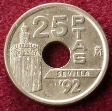 España 25 Pesetas 1990 a 2000 (a elegir el año) muy bien o mejor