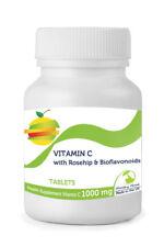 Vitamine C 1000mg Avec Cynorrhodon Bioflavonoïdes 30/60/ 90/120/180/250