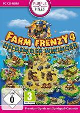 FARM FRENZY 4 * HELDEN DER WIKINGER *  MANAGEMENT-SPIEL  PC CD-ROM