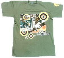 Rare Unworn JOHN LEGEND Concert Tour 2007 All Of Me Soul Star ViP T-Shirt g.S