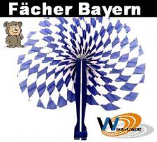 Bayern Party Fächer Klappfächer Papierfächer Oktoberfest Spaß Bayernfächer Wiesn