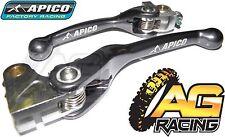 Apico Flexi Lever Set Titanium Clutch Lever Brake Lever For HondaCRF 450R 07-18