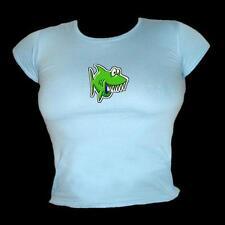 Juguete Jaws - Verde dibujos Tiburón único y Cool Buceo Camiseta Mujer