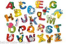 lettres en bois - Animaux de la lettre et chiffres en bois Legler - Neuf