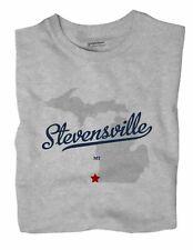 Stevensville Michigan MI Mich T-Shirt MAP