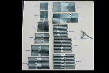 Stockschraube Stahl verzinkt Größe wählbar M 6 x 60 mm - M 10 x 140 mm, VPE 10