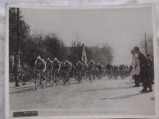 Photo ancienne cyclisme Paris Evreux,Pedrali, Paris Soir, argentique