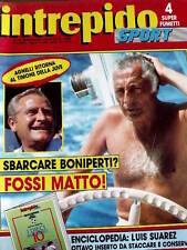 Intrepido 18 1988 Gianni Agnelli e Michel Platini