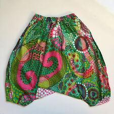 Girls boys harem pants baggy summer hippy boho trousers 1,2,3,4,5,6,7 years