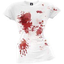 Blood Splatter Juniors T-Shirt