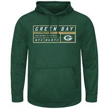 Green Bay Packers MENS Sweatshirt Startling Success Pullover Hoodie by Majestic
