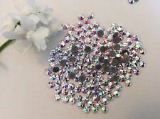 swarovski #2058 Flatback Xilion Rose Hotfix Rhinestone Crystal AB 16ss 4mm x60