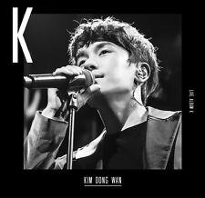 KIM DONG WAN SHINHWA - K (1st Live Album) CD+DVD+150p Photobook