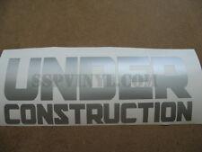 Under Construction Decal Import Euro Stance JDM Sticker