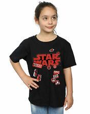 Star Wars Girls The Last Jedi Badges T-Shirt