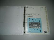 Technische Information Ford Audio Systeme Mai 1998