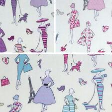 100% Cotton Fabric Lifestyle Glamour Fashion Paris Handbags