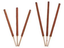 3er Pack Holzspieße für Gartenfackeln Fackel Wachsfackeln von Kerzen Wiedemann