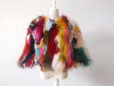 100% Genuine real natural women raccoon fur coat ladies fashional jacket outwear