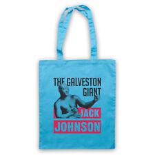 GALVESTON GIANT UNOFFICIAL JACK JOHNSON BOXING BOXER TOTE BAG LIFE SHOPPER