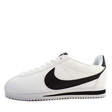 WMNS Classic Cortez Leather [807471-101] Women Casual Shoes White/Black