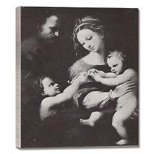 Raffaello Madonna di Bogotà quadro stampa tela dipinto telaio arredo casa