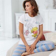 63c298a363 Avon Disney Winnie The Pooh Pijama Pijama    con licencia Blanco Azul Gris  lechón