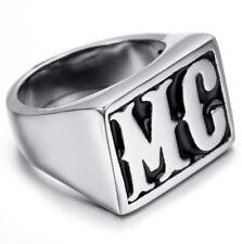 Men's Harley Davidson Motorcycle Club MC Theme Biker Ring Size 8-14 US SELLER