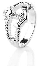 "Ring ""Glaube Liebe Hoffnung "" HEARTBREAKER BY DRACHENFELS 925er Silber  LDGLH11"